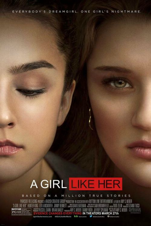 Watch A Girl Like Her movie 16 year old Jessica Burns has a secret that she's afraid to share with anyone—except her best friend, Brian Slater. For the past year she's been victimized by another girl: her former friend, Avery Keller, one of South Brookdale High School's m...