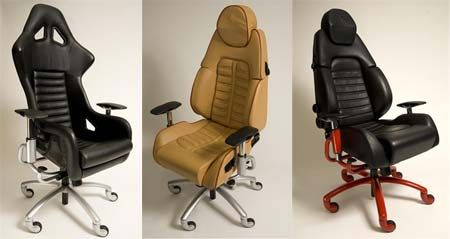 ferrari office chair uk benchmaster nicholas leather and storage ottoman 34 best automotive themed furniture images on pinterest | garages, workshop car part