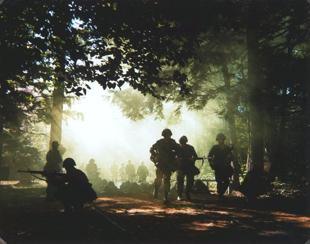 Canadian Forces Boot Camp.