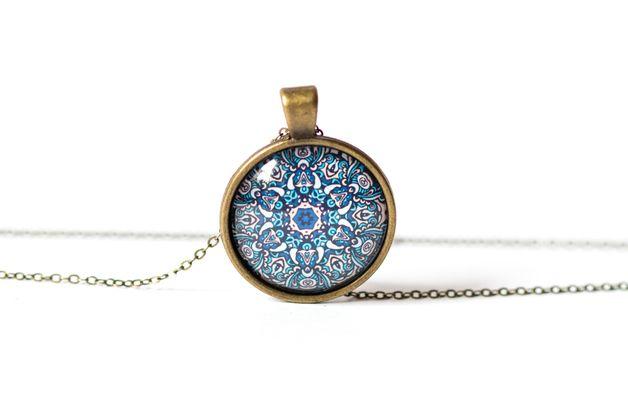 Naszyjnik z mandalą/Mandala Pendant - Art-Of-Nature
