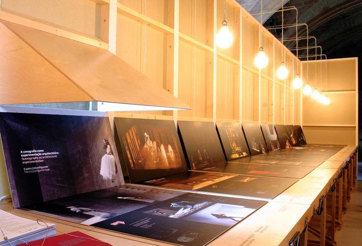 Exposição Arquitecturas em Palco | Trabalho | FBA. - Ferrand, Bicker & Associados