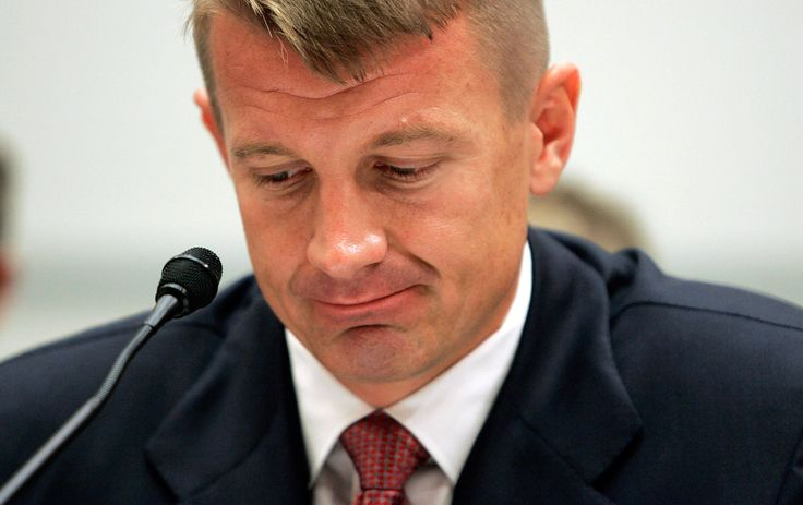 """Sworn statements filed in Federal Court allege that Blackwater founder Erik Prince launched a """"crusade""""to eliminate Muslims and Islam."""