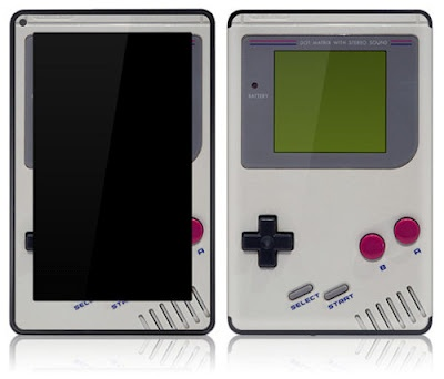 Stickitsskins are trying to bring the Game Boy with removable adhesive-backed vinyl cover that offers unique style and full protection.