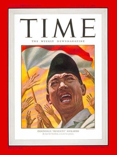 Cover Time Soekarno - 1946