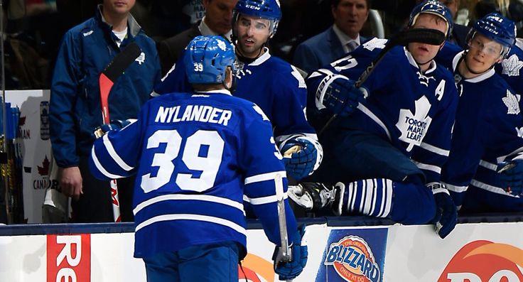 William Nylander scores his first NHL goal.