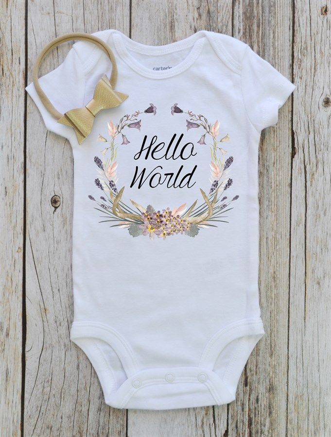Boho Baby Bodysuit | Many Designs