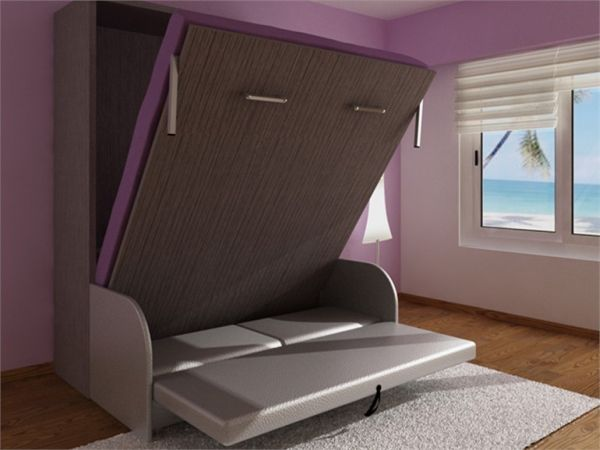25 best ideas about convertible furniture on pinterest - Bedroom furniture for small spaces ...
