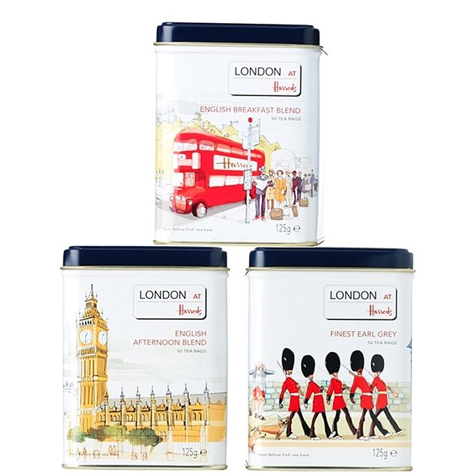 Harrods tea tins - Art and design inspiration from around the world - CreativeRoots