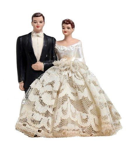 Vintage Wedding Cake Topper                                                                                                                                                                                 More