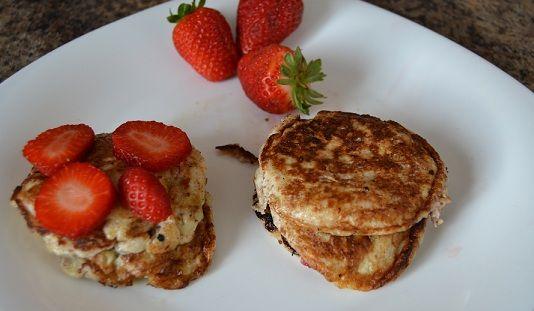 RECETA PLENFORMA: Tortitas sin gluten, lactosa ni azúcar