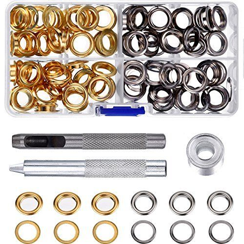 Pangda Grommet Kit With 100 Set Grommets 3 8 Inch Audi Logo Grommets Vehicle Logos