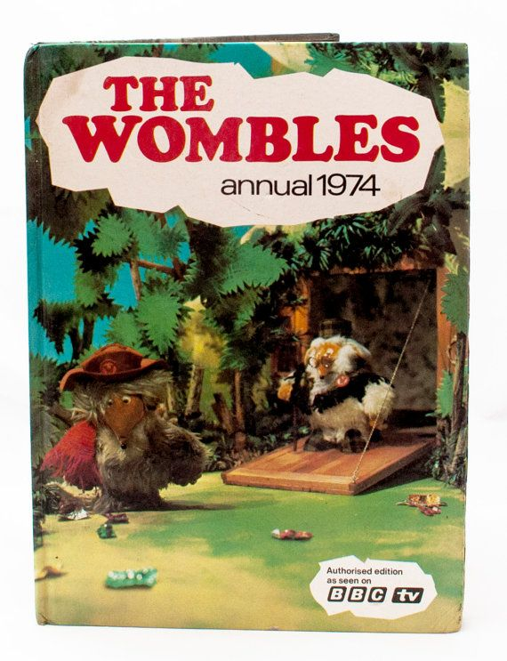 The Wombles Annual 1974 Fabulous piece of by CollectableMrJones