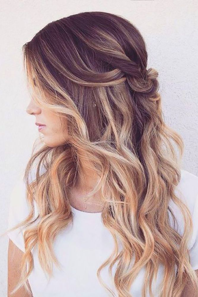 24 Oh So Perfect Curly Wedding Hairstyles ❤ See more: http://www.weddingforward.com/curly-wedding-hairstyles/ #weddings #hairstyles