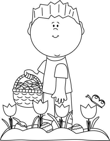 95 best images about Clip Art-Spring on Pinterest | Saint ... Easter Clipart Free Black And White
