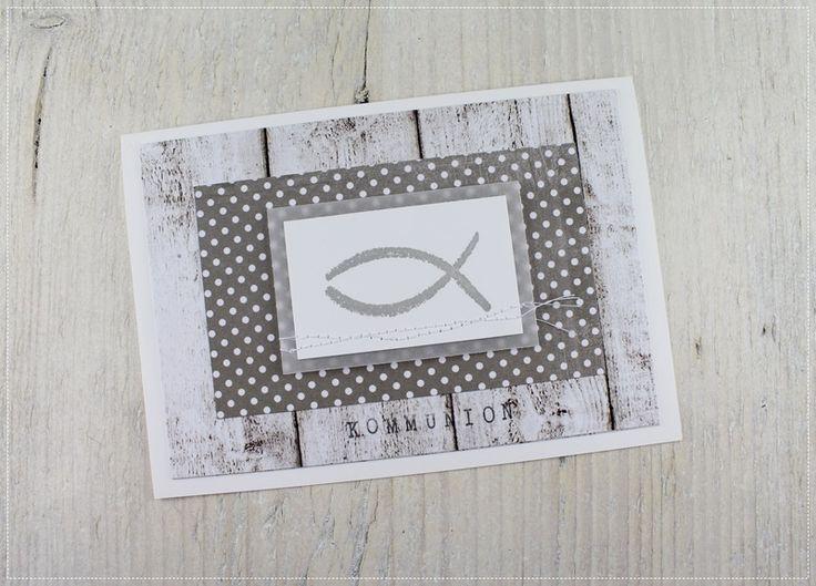 Einladung+zur+Kommunion+von+★+Carolas+Bastelstübchen++★+auf+DaWanda.com