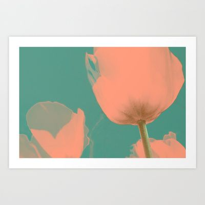 Tulip Art Print by i am sofia santos - $14.80