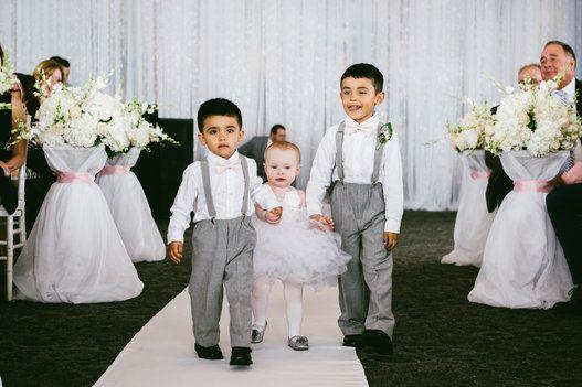 Au mariage, ces enfants ont volé la vedette! (PHOTOS)