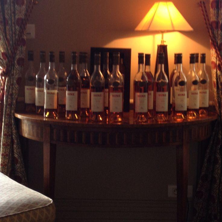 Vintage cognacs