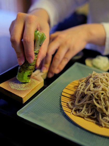 """""""手打ち蕎麦 かね井""""@京都・西陣(Buckwheat noodles)"""