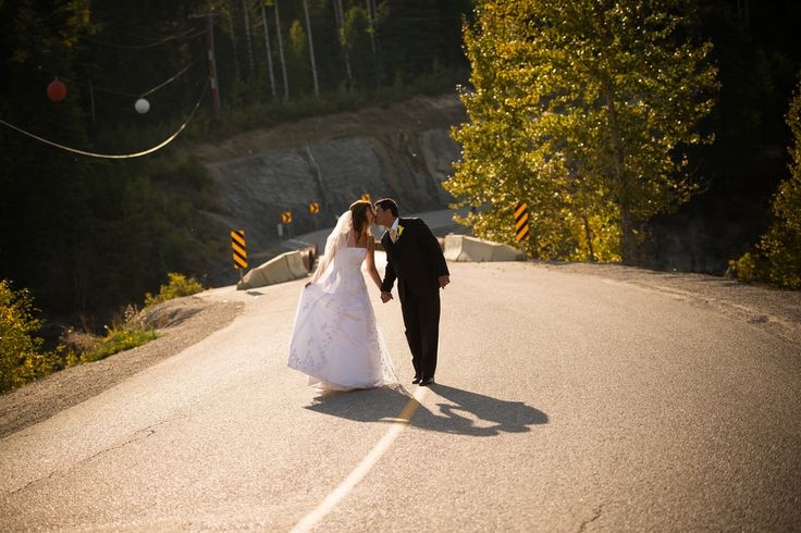 Middle of Road Wedding Portrait | Flickr - Photo Sharing!