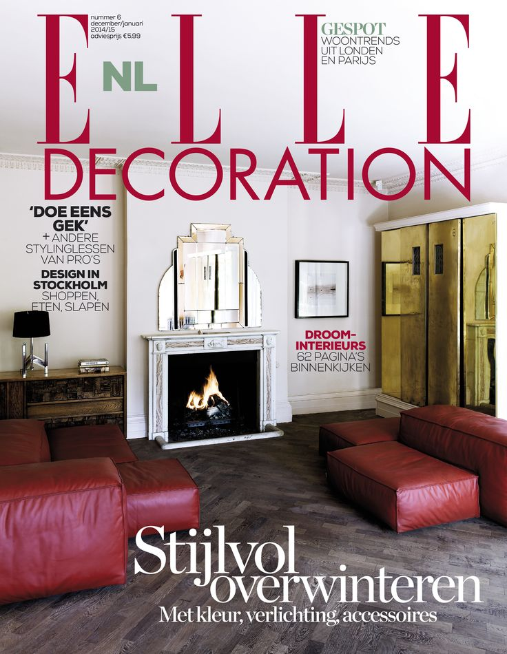 Cover 6 - 2014 | ELLE Decoration NL