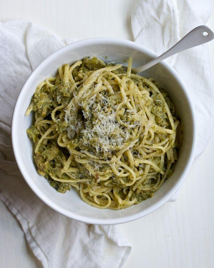 recipe: vegetarian linguine recipes [36]