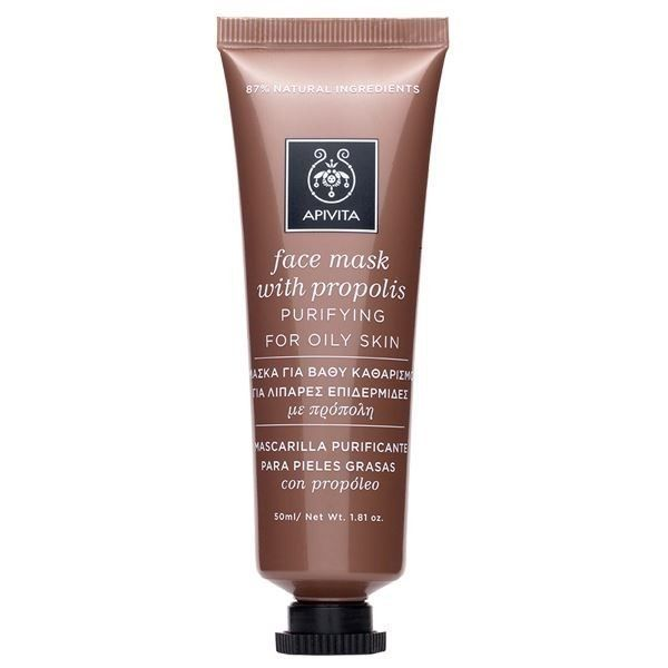Apivita Purifying Face Mask for Oily Skin  with Propolis, 50ml