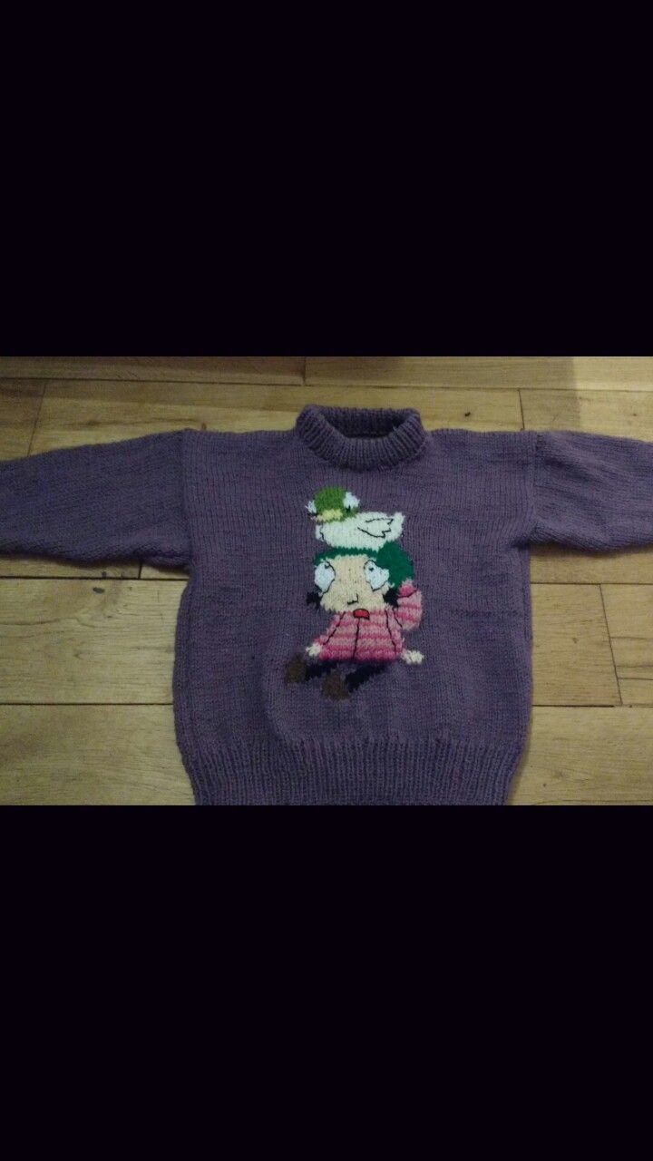 Sarah and duck jumper