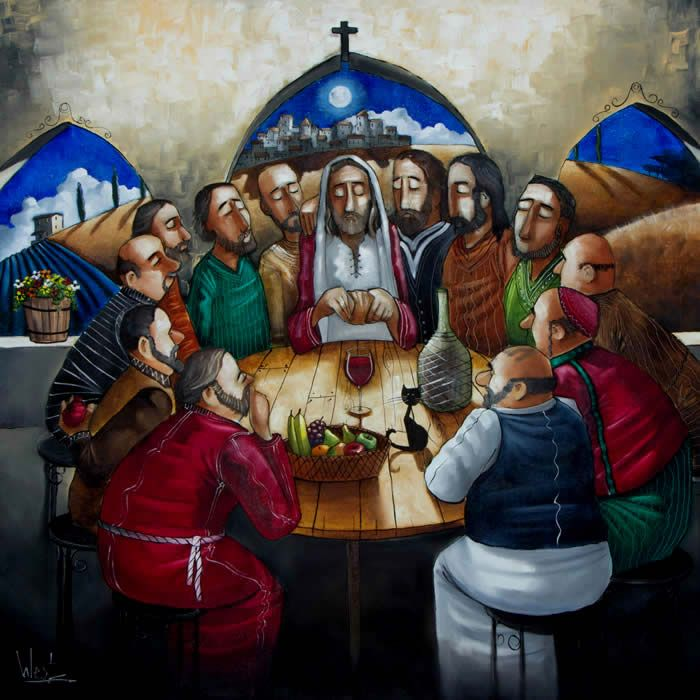 Last Supper by Ronald West