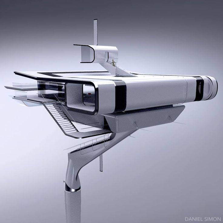 Unseen Oblivion concept art by Daniel Simon