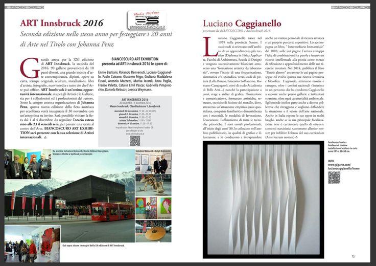 Art Innsbruck 2016 - 1/4 dicembre