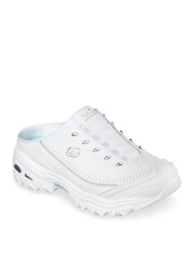 Skechers White D Lites Athletic Shoe
