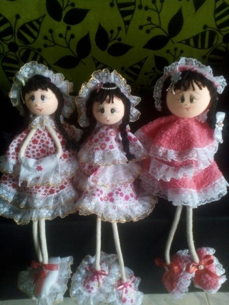 muñecas en retacitos