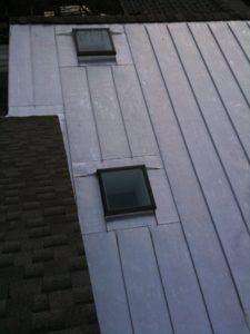 Terne Metal Standing Seam Roof