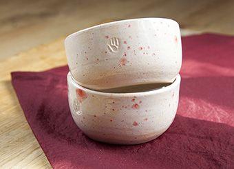 Керамические салатницы-креманки (пара)  | Гончарная #керамика ХендКрафтер #clay #ceramics #pottery #bowl