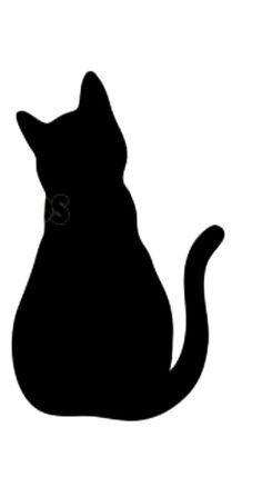 Katze sitzend umriss - Google-Suche em 2020 Desenho de