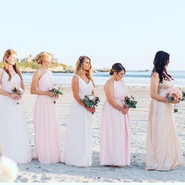 Beach wedding bridesmaid dresses!