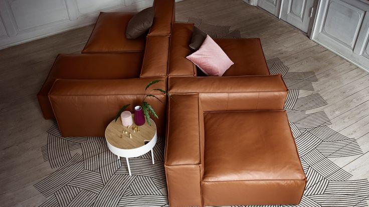 Modular sofas - Design your own modular sofa for your home with Bolia