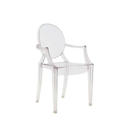Cadeira Louis Ghost, by Philippe Starck