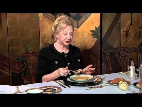 Dining Etiquette When Having Soup - YouTube