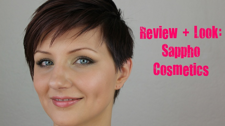This is a great everyday smoky eye using Sappho, an all natural high end cosmetic line.