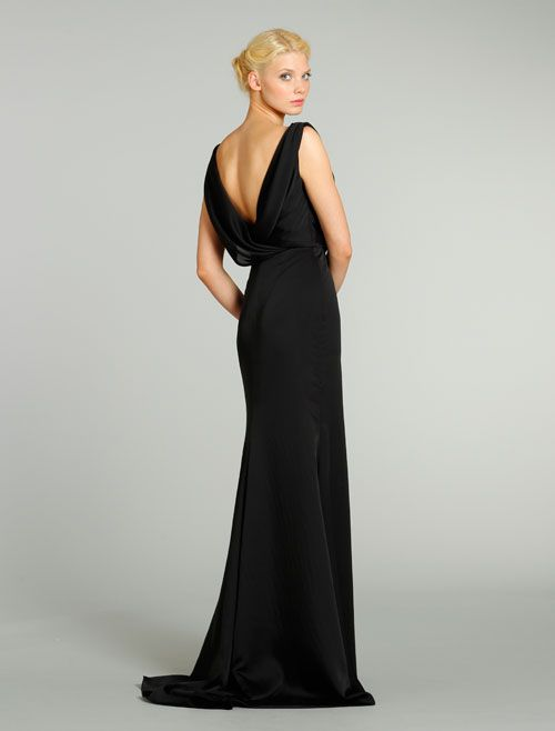 Back View, Noir By Lazaro Bridesmaids and Special Occasion Dresses Style NZ3286 by JLM Couture, Inc.