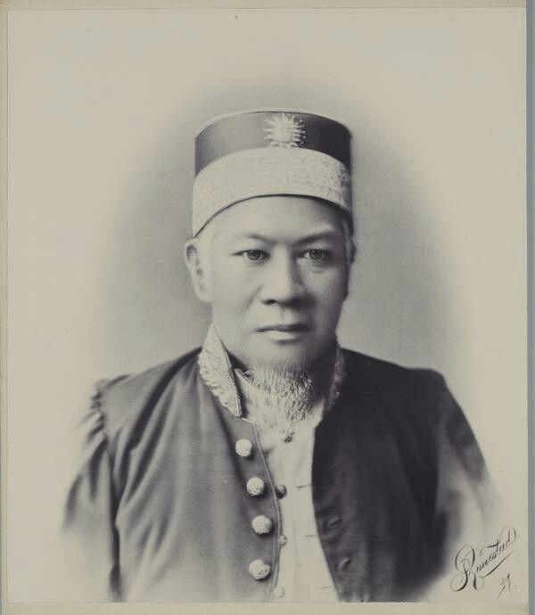 Mohammad Tsafioedin, sultan van Sambas. 1897