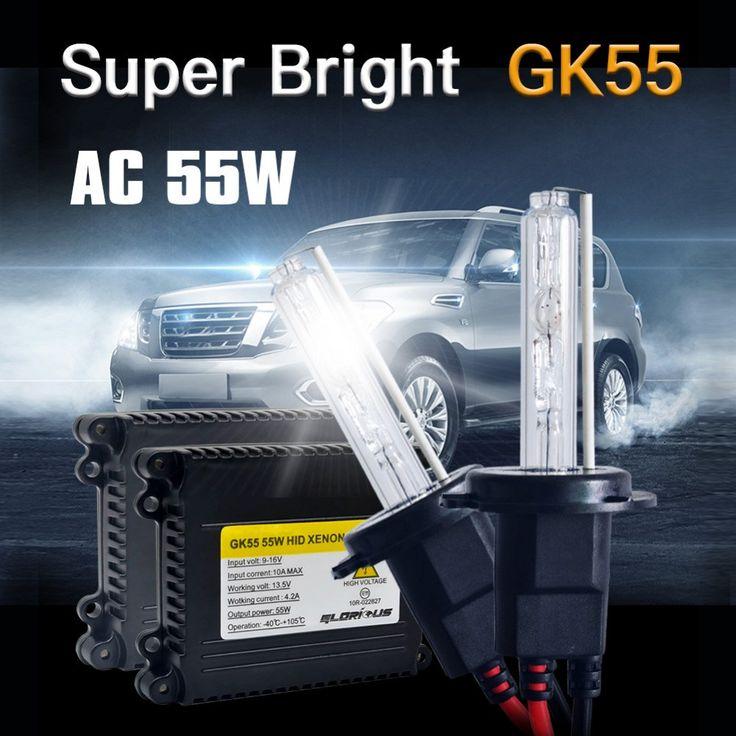 Buy online US $25.60  1 Set AC 55W Xenon Lamp H1 H3 H4 H7 H11 9005 9006 881 D2S HID Xenon Kit 4300K 5000k 6000K 8000K Xenon H7 Car Light Bulb