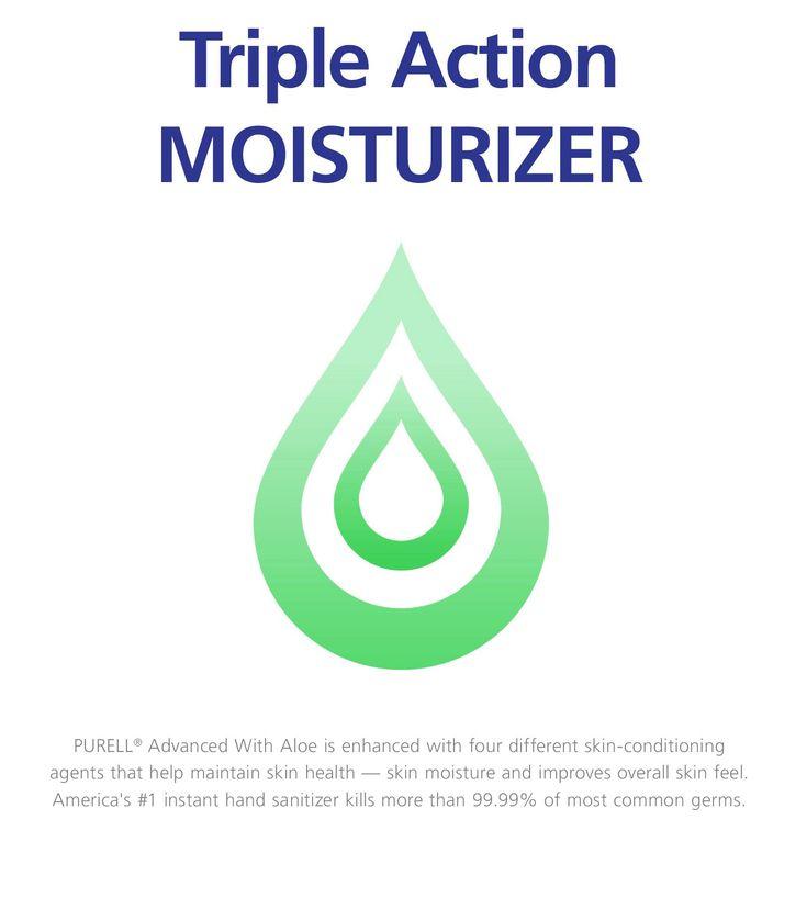 Purell Advanced Hand Sanitizer Hand Sanitizer Gel With Aloe 1l