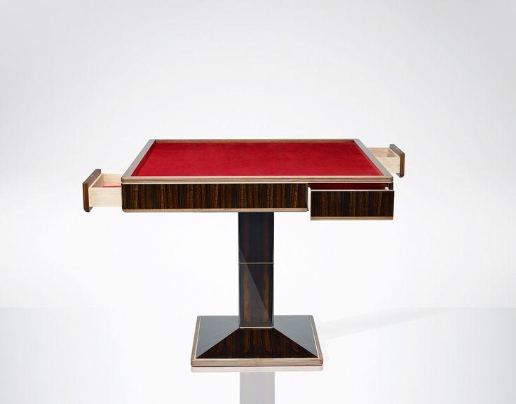 Bespoke Games Table - LINLEY #LINLEY #Craftsmanship #Bespoke