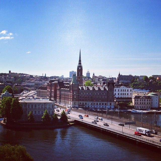 Summer morning view! <3 Stockholm in June.  #sheratonstockholm #betterwhenshared #stockholmview #summermorning  http://sher.at/1KQ5kyX