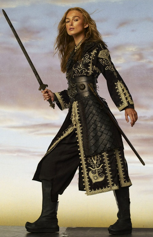 Elizabeth Swann, this is who I wanted to be when I was littl