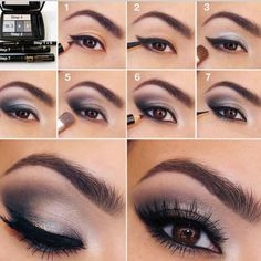 Tips de maquillaje paso a paso de ojos para la noche. Inténtalo para que luzcas radiante la noche de navidad. #belleza #beauty #maquillajedeojos #makeup #tipsdemaquillaje #Padgram