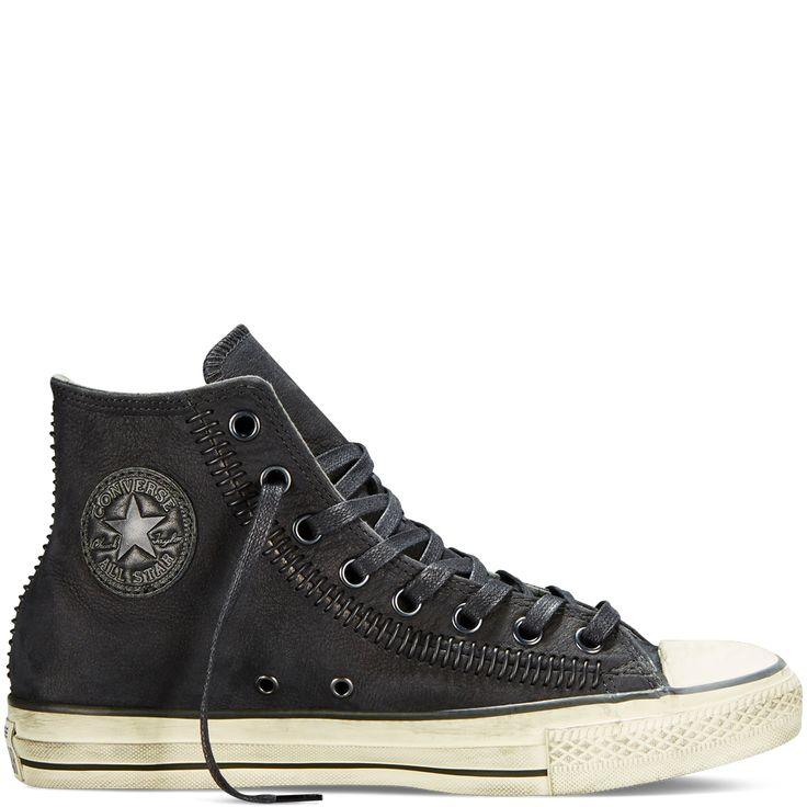 Converse - Converse by John Varvatos Artisan Stitch - Black - Hi Top
